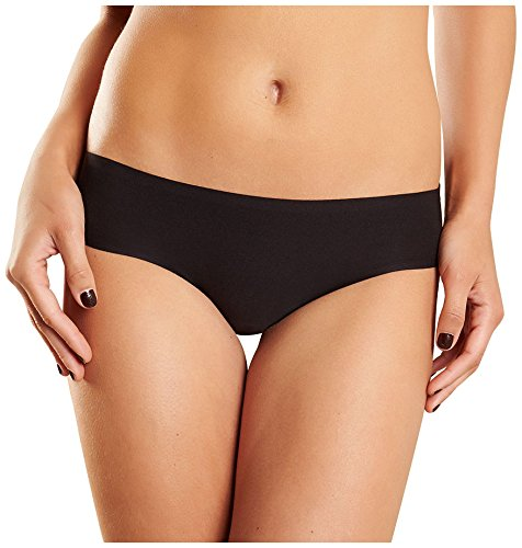 Chantelle Women's Soft Stretch Low Rise Bikini, Black, One Size