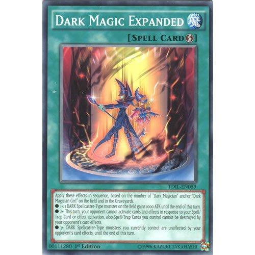 YuGiOh : TDIL-EN059 1st Ed Dark Magic Expanded Common Card - ( Yu-Gi-Oh! Single Card ) by Deckboosters