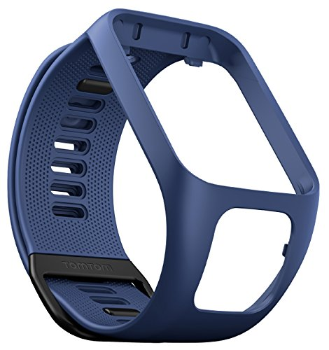 TomTom Spark GPS Fitness Watch Accessory Strap (Dark Blue, Small)