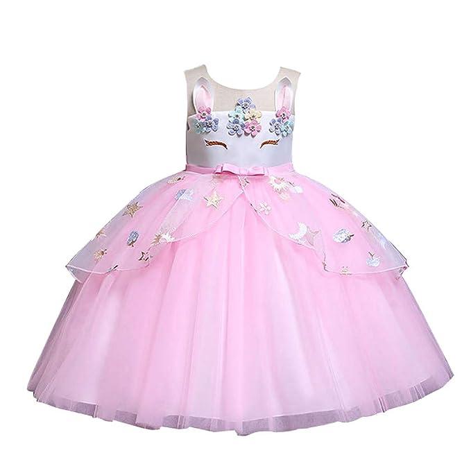 4126bf4bb SiQing Easter Little Girls' Start Sequin Flower Tulle Tutu Dress,  Sleeveless Bunny Rabbit Ear