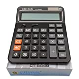 BALUZ Financial Professional Standard Calculators,Large Calculator,Desktop Calculator with 14-Digits Large Display,Solar and Battery Dual Power for Office Business Scientific