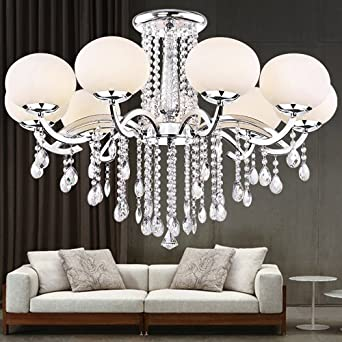 Lightinthebox European MINI Style Elegant Luxury 9 Light Crystal Chandelier,  Modern Ceiling Light Fixture For