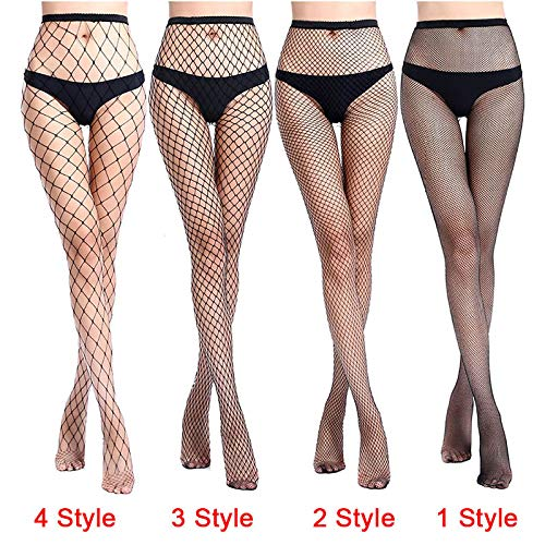 Amazon.com: Blue Stones HOT Women Sexy Pantyhose Mesh Fishnet Nylon Tights Long Stocking Black Net Pantyhose Stockings Lingerie Club Party Hosiery: Kitchen ...