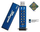 iStorage datAshur PRO 256-bit 4GB USB 3.0 Secure encrypted Flash Drive IS-FL-DA3-256-4