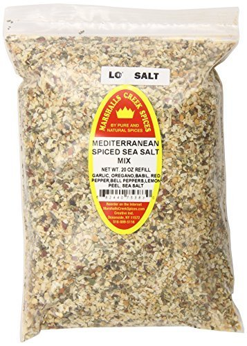 Marshalls Creek Spices X-Large Refill Mediterranean Spiced Sea Salt Mix, 20 Ounce by Marshall's Creek Spices