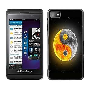 - Moon Night - - Fashion Dream Catcher Design Hard Plastic Protective Case Cover FOR Blackberry Z10 Retro Candy