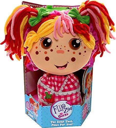 Flip Zee Girls Zana Very Berry Strawberry Sweet and Cuddly 2-in-1 Plush Doll ()