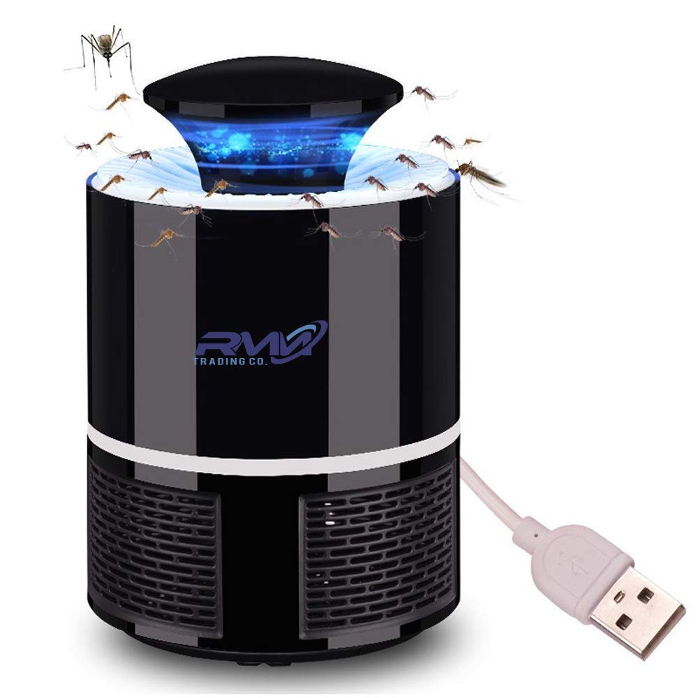The Best Mosquito Killer Trap- Electronic Mosquito Trap-USB Powered- UV LED Mosquito And Bugs Attraction- Non- Toxic And Radiation Free Trap- Outside And Inside House Mosquito Trap- Waterproof Lamp