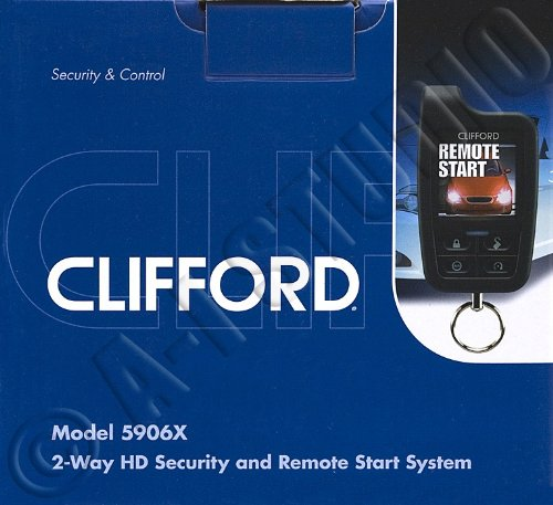 51sBz%2BOcmTL amazon com clifford 5906x 2 way security system with remote start clifford auto immobilizer wiring diagram at webbmarketing.co