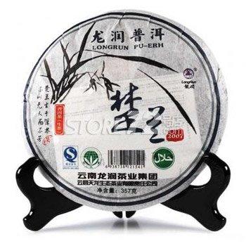 Yunnan Longrun Pu-erh Tea Cake-Chulan (Year 2007,Unfermented,357g) by Yunnan Longrun Pu-erh Tea