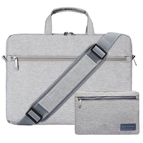 Beige Carrying Case (Cartinoe Laptop Shoulder Bag for 13 - 13.3 Inch MacBook Pro, MacBook Air, 12.9 iPad Pro, 13
