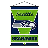 NFL Seattle Seahawks Wall Banner, One Size, White