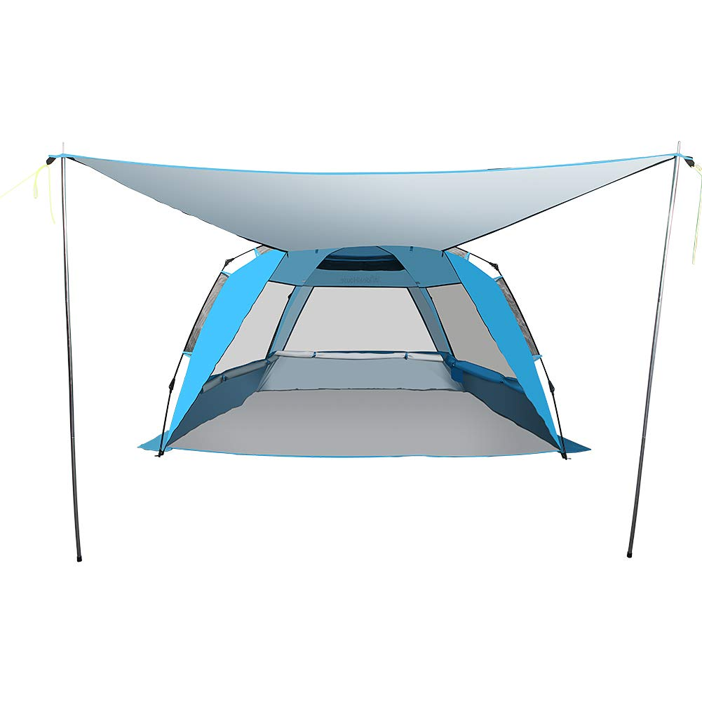 Beach Cabana Instant Tent for Family Outdoor Beach Camping
