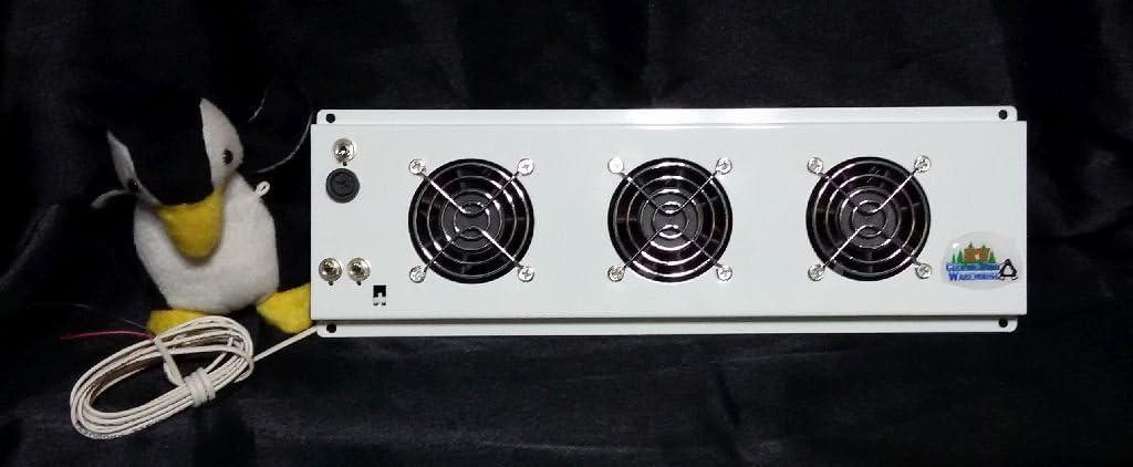 Triple Fan Deluxe Frost Guard RV Refrigerator