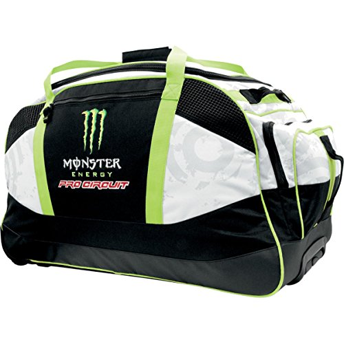 Pro Circuit 55123 Monster Trunk Roller Bag (Bag Wheelie Pc Truck 8800) (Circuit Gear Bag)