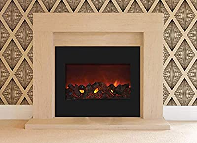 Amantii Zero Series Built-in Electric Fireplace (ZECL-30-3226-BG), 30-Inch