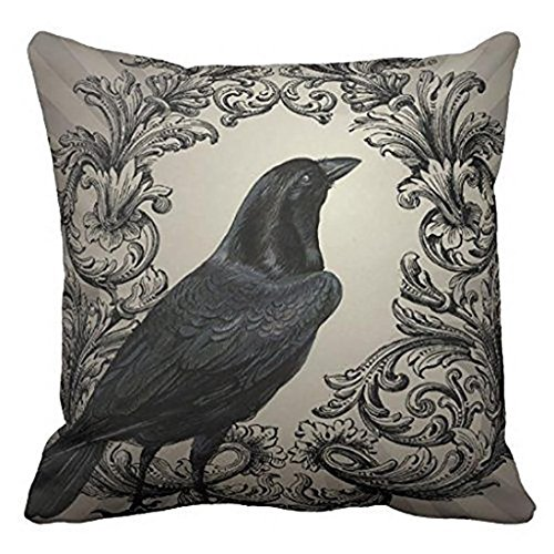 Pillowcase,Han Shi Happy Halloween Knitted Print Cases Sofa Cushion Cover Home Decor (A, Colorful)