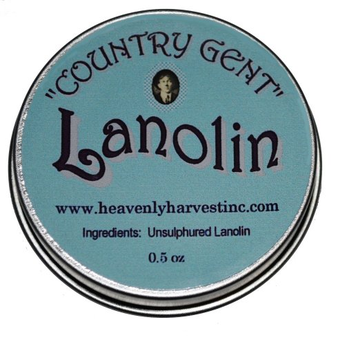 """Country Gent"" Lanolin, 0.5 oz"
