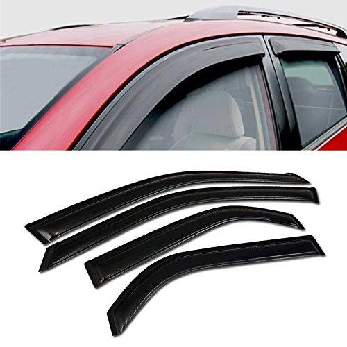 (for 2001-2006 Acura MDX All Models Sun/RAIN/Wind Guard Smoke Vent Shade Deflector Window Visor)