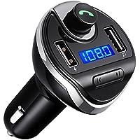 Criacr Bluetooth FM Transmitter, Wireless in-Car FM...