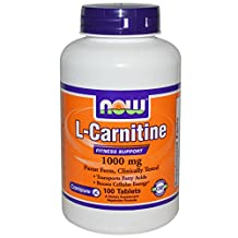 Now Foods L-Carnitine 1000 mg - 100 Tabs