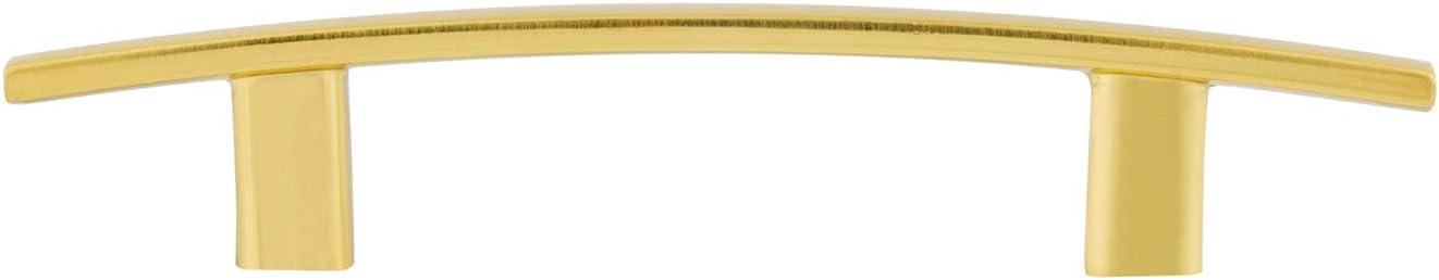 Golden Champagne 13.33 cm Length 7.62 cm Hole Center Basics AB1700-GC-10 Cabinet Pull