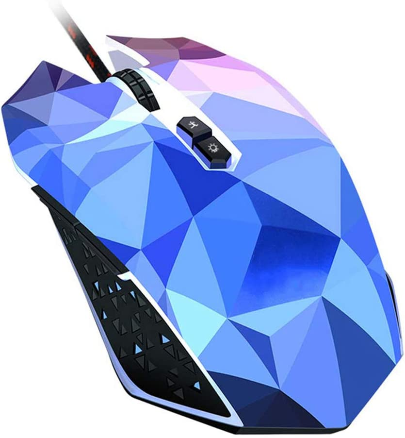 USB Wired Original Mouse Gamer Optical Computer Mouse PC Gamer Colour Diamond Edition Gaming Mouse