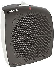 Imetec Living Air C4-100 Termoventilatore, 2000 W, Compatto ed Elegante, Silenzioso, Termostato Ambiente