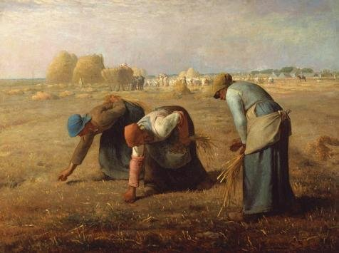High Quality Polyster Canvas ,the Replica Art DecorativeCanvas Prints Of Oil Painting 'Jean-Franois Millet-The Gleaners,1857', 16x21 Inch / 41x54 Cm Is Best For Bar Gallery Art And Home Artwork And Gifts