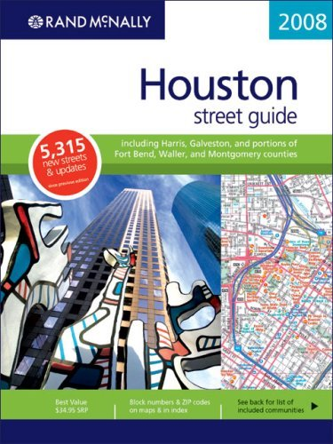 Rand McNally Houston Street Guide: Including Harris, Galveston, and Portions of Fort Bend, Waller, and Montgomery Counties by Rand McNally - Galveston Shopping Mall
