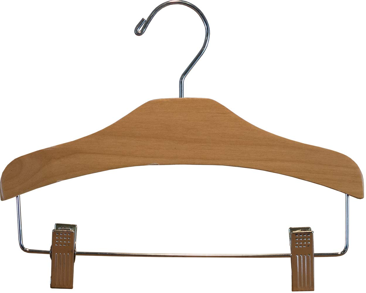 Alder Children's Arched Combo Hanger with Clips