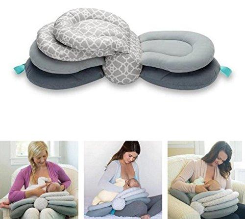 51sC10k6otL - Multi-Function Breastfeeding Pillow Maternity Nursing Pillow,Adjustable Height