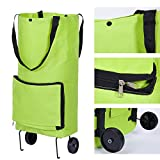 Birdfly Coupled Wheel Portable Foldable Environmentally Friendly Folding Shopping Cart Home Trolley Bag Tug