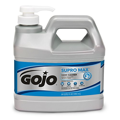 GOJO SUPRO MAX Hand Cleaner, 1/2 Gallon Heavy Duty Hand Cleaner Pump Bottles (Pack of 1) – 0972-04 by Gojo (Image #4)