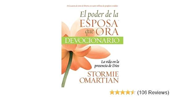 ... de la Esposa que ora Devocionario la Vida (Spanish Edition) - Kindle edition by Stormie Omartian. Religion & Spirituality Kindle eBooks @ Amazon .com.