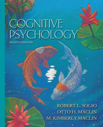 Cognitive Psychology- (Value Pack w/MyLab Search) (8th Edition)