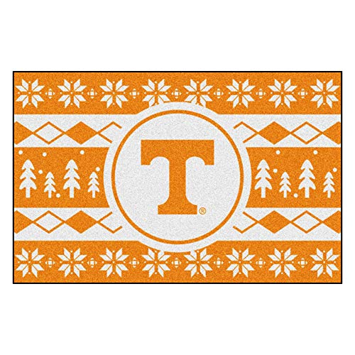 Fanmats NCAA Holiday Sweater Starter Rug, Tennessee, 19
