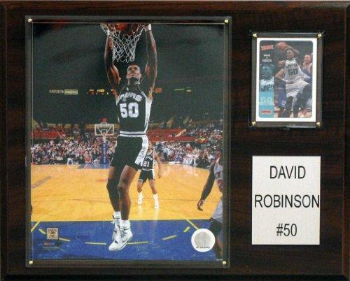 NBA San Antonio Spurs David Robinson Player Plaque
