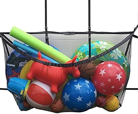 CZ-XING Bolsa de Malla con cordón para Deportes de Gran Capacidad ...