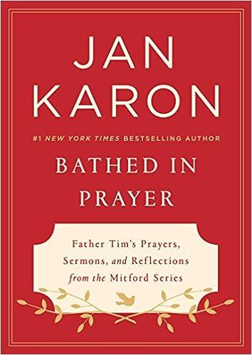 Image result for bathed in prayer by jan karon