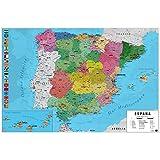 Grupo Erik Editores, S.L. - Póster mapa españa-e grupo erik