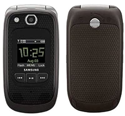 Verizon Samsung Convoy U660 No Contract Rugged PTT Cell Phone Grey Verizon