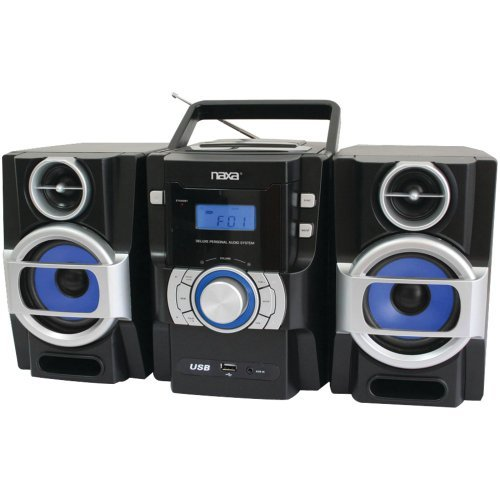 NAXA NPB429 Portable CD/MP3 Player with PLL FM Radio, Detachable Speakers & Remote electronic consumer
