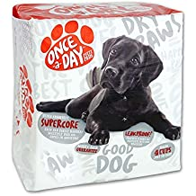 Once-a-Day Super Absorbent Pet Training and Puppy Pads 24 in. x 24 in. 20 count Box