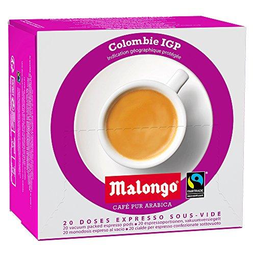 Café Malongo Café Pods Colombia Supremo, 125 g