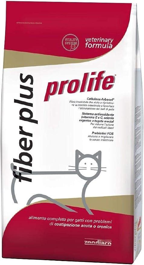 Prolife Plus De Fibra para Gato, 1,5 kg: Amazon.es: Productos para mascotas