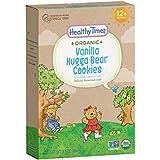 Healthy Times Organic Hugga Bear Vanilla Cookies, 6.5 Ounce (Packaging May Vary)