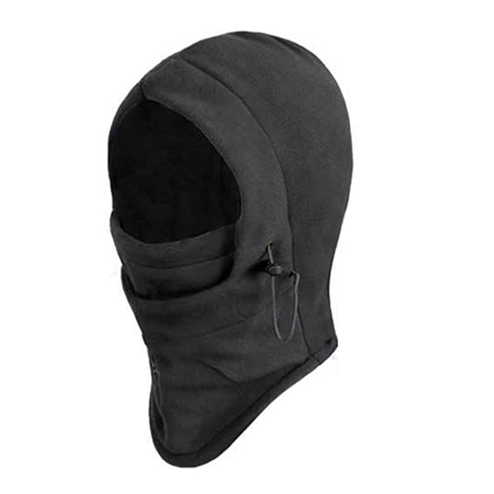 Broadfashion 6 in 1 Thermal Fleece Balaclava Hood Police Swat Ski Bike Wind Stopper Face Mask