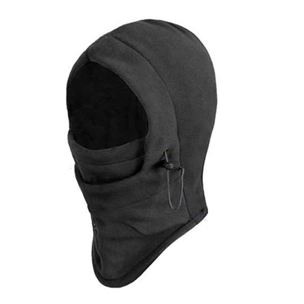 STONCEL 6 in 1 Maschera a pieno facciale in velluto termico con passamontagna Cappuccio con cappuccio da sci wind stopper doppio strato