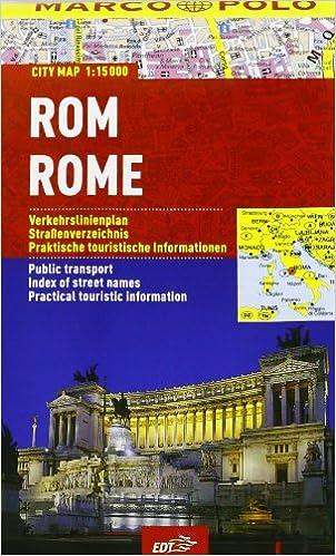 Roma 1:15.000 (Piante di città Marco Polo): Amazon.es: Libros en ...